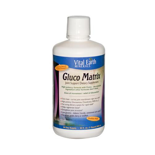 Mother Mantis: Vital Earth Minerals Gluco Matrix - 32 Fl Oz Vital Earth Minerals