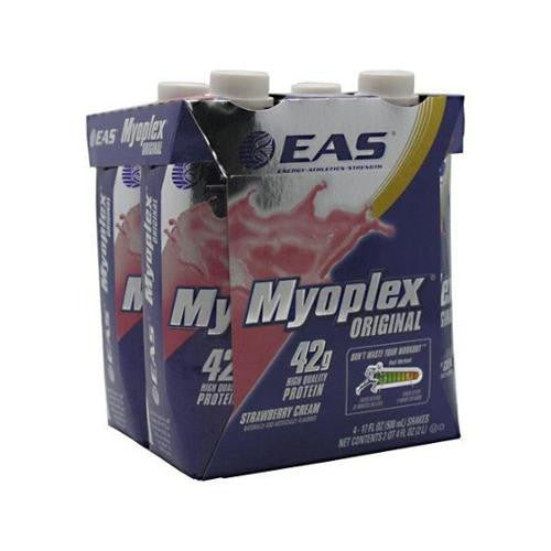Mother Mantis: Eas Myoplex Rtd - Strawberry 500 Ml - 3-4 Pk Eas