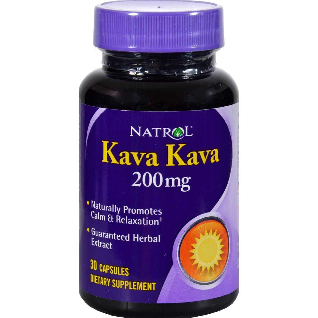 Mother Mantis: Natrol Kava Kava 200 Mg - 30 Caps Natrol