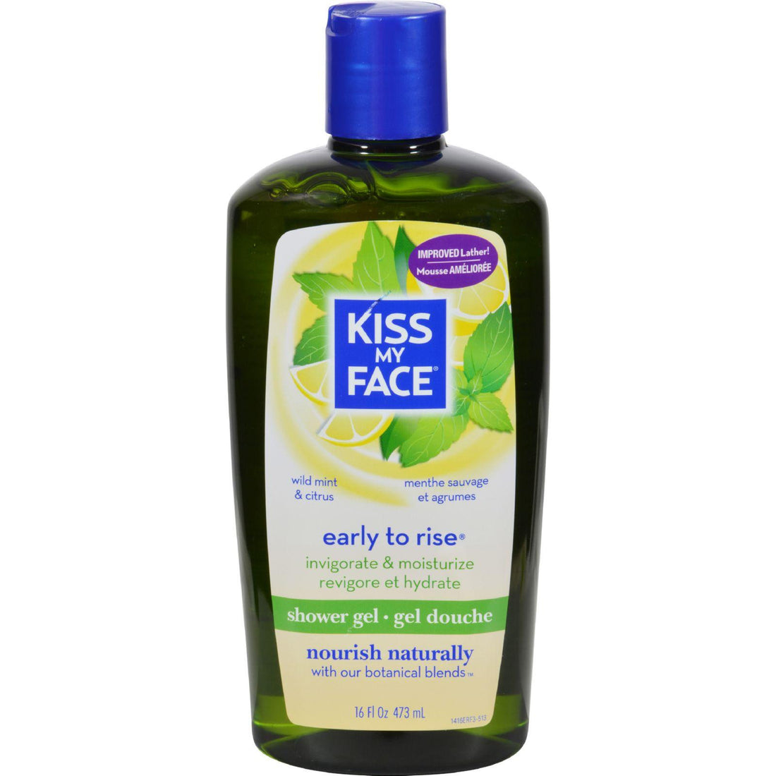 Mother Mantis: Kiss My Face Shower Gel And Foaming Bath Early To Rise - 16 Fl Oz Kiss My Face