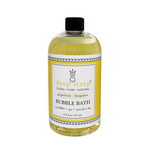 Mother Mantis: Deep Steep Bubble Bath Grapefruit Bergamot - 17 Fl Oz Deep Steep