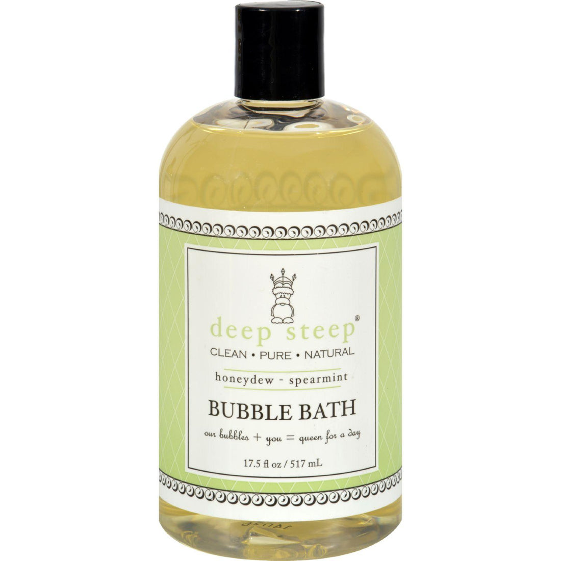 Mother Mantis: Deep Steep Bubble Bath Honeydew Spearmint - 17 Fl Oz Deep Steep
