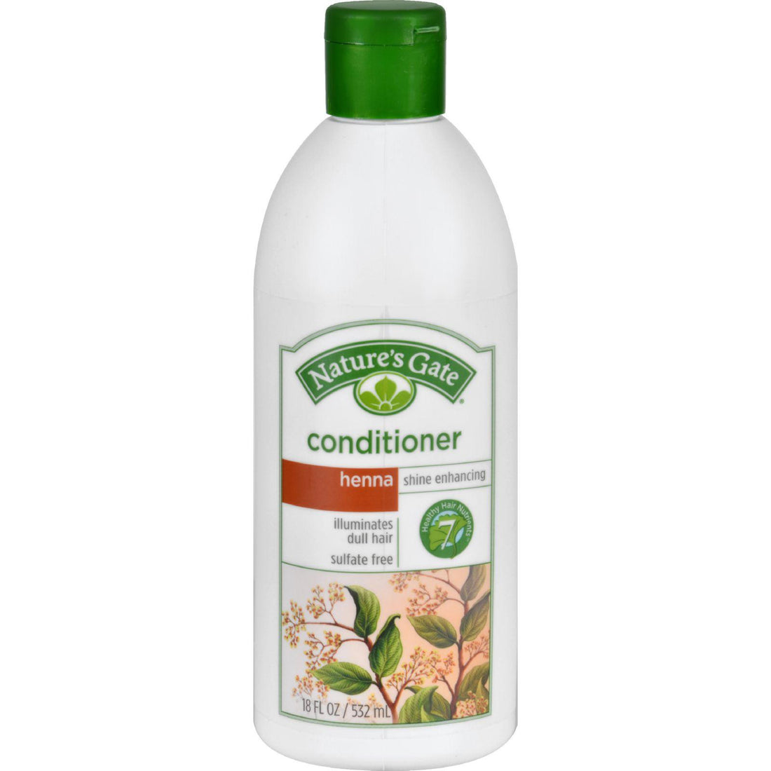 Mother Mantis: Nature's Gate Conditioner - Henna Shine Enhancing - 18 Fl Oz Nature's Gate