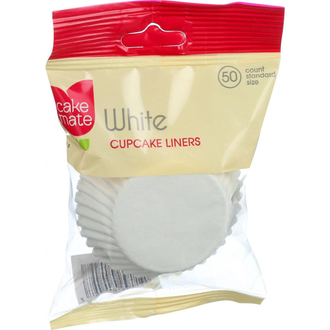 Mother Mantis: Cup Cvake Liners,White Cake Mate