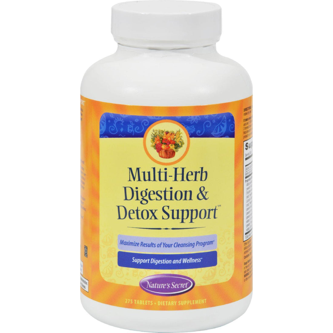 Mother Mantis: Nature's Secret Multi-herb Digestion And Detox Support - 275 Tablets Nature's Secret