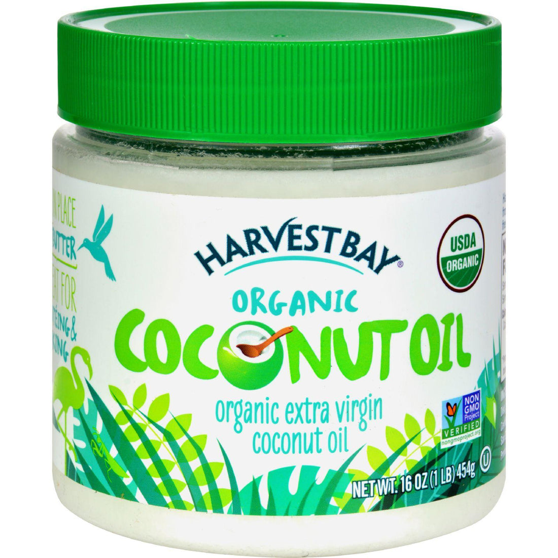 Mother Mantis: Harvest Bay Extra Virgin Organic Coconut Oil - 16 Fl Oz Harvest Bay