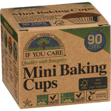 If You Care Baking Cups - Mini - Unbleached Totally Chlorine Free - 90 Count If You Care