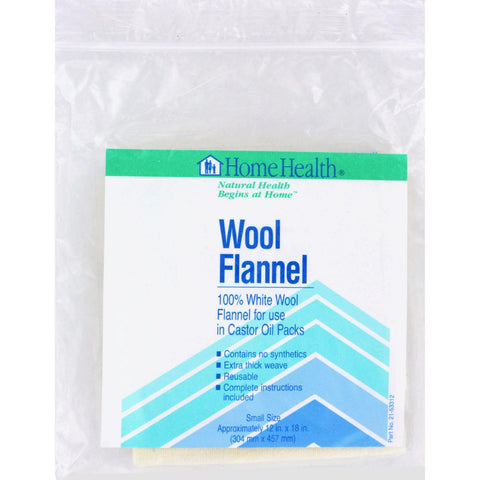 Home Health Wool Flannel Small - 1 Cloth Home Health