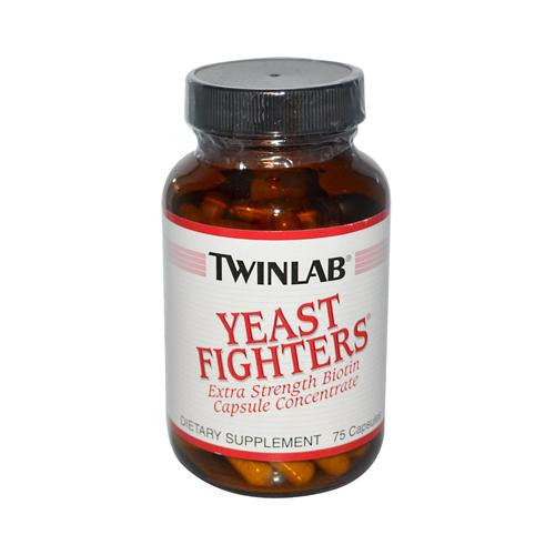 Mother Mantis: Twinlab Yeast Fighters - 75 Capsules Twinlab