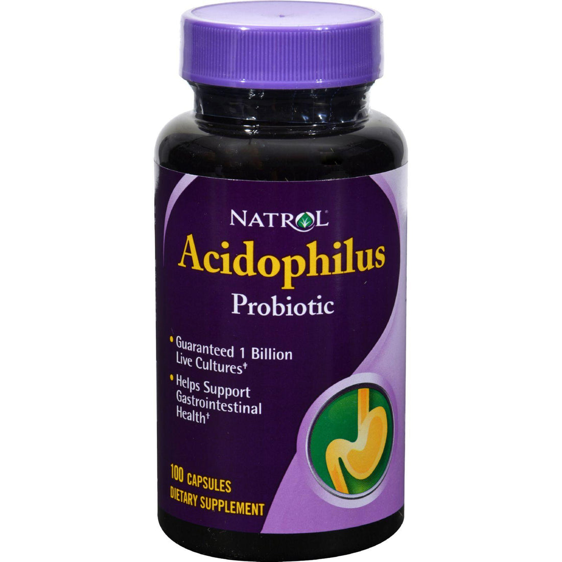 Mother Mantis: Natrol Acidophilus Probiotic - 100 Mg - 100 Capsules Natrol