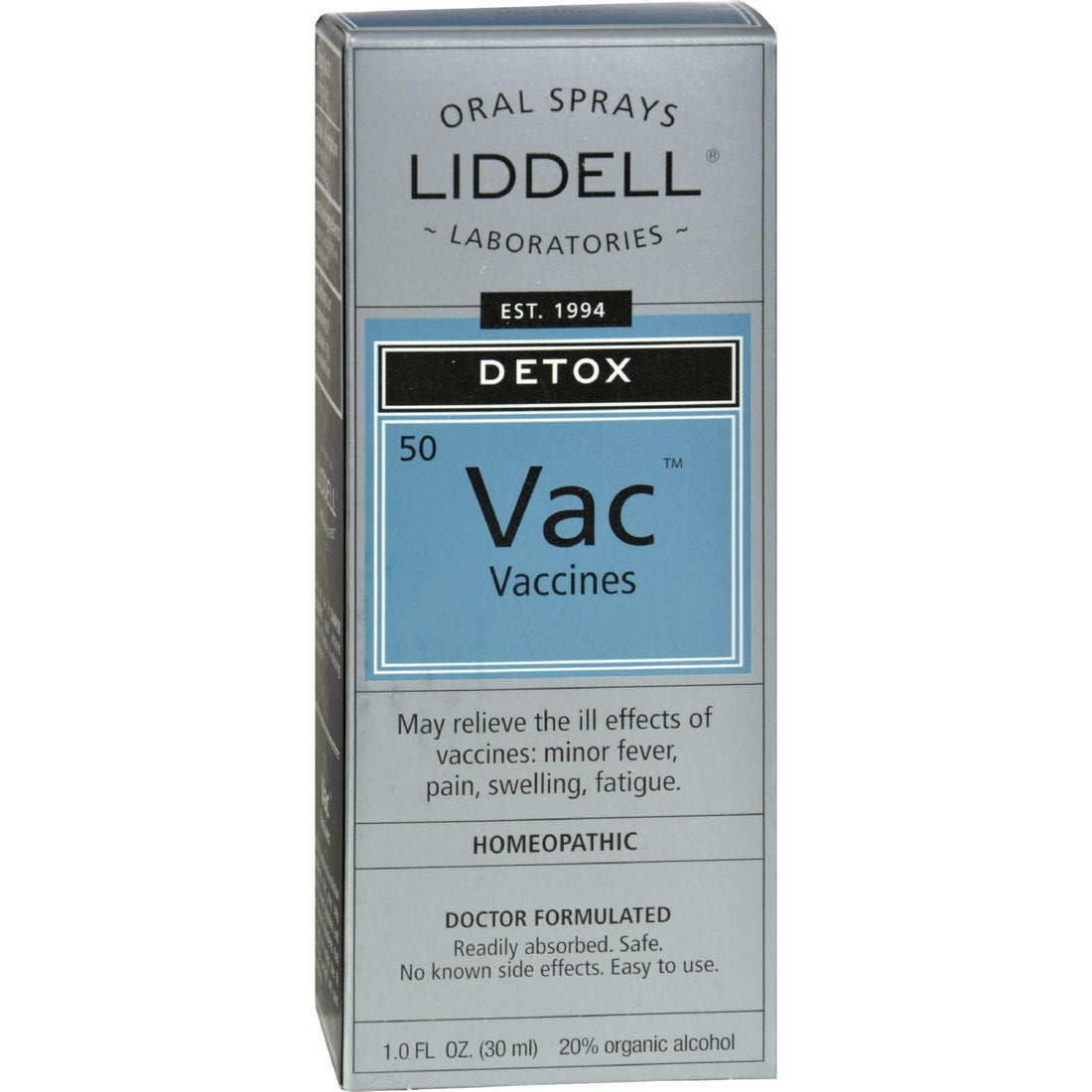 Mother Mantis: Liddell Homeopathic Anti-tox Vaccine - 1 Fl Oz Liddell Homeopathic
