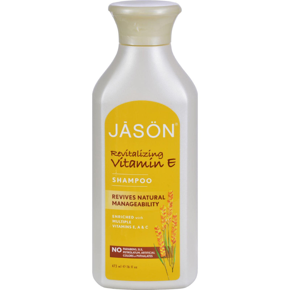 Mother Mantis: Jason Vitamin E With A And C Shampoo - 16 Fl Oz Jason Natural Products