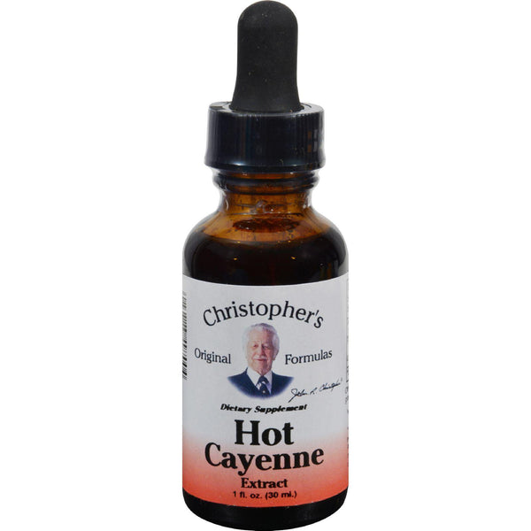 Mother Mantis: Dr. Christopher's Hot Cayenne Extract - 1 Fl Oz Dr. Christopher's Formulas
