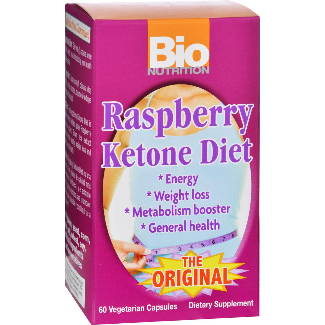 Mother Mantis: Bio Nutrition Raspberry Ketone Diet - 60 Veggie Capsules Bio Nutrition