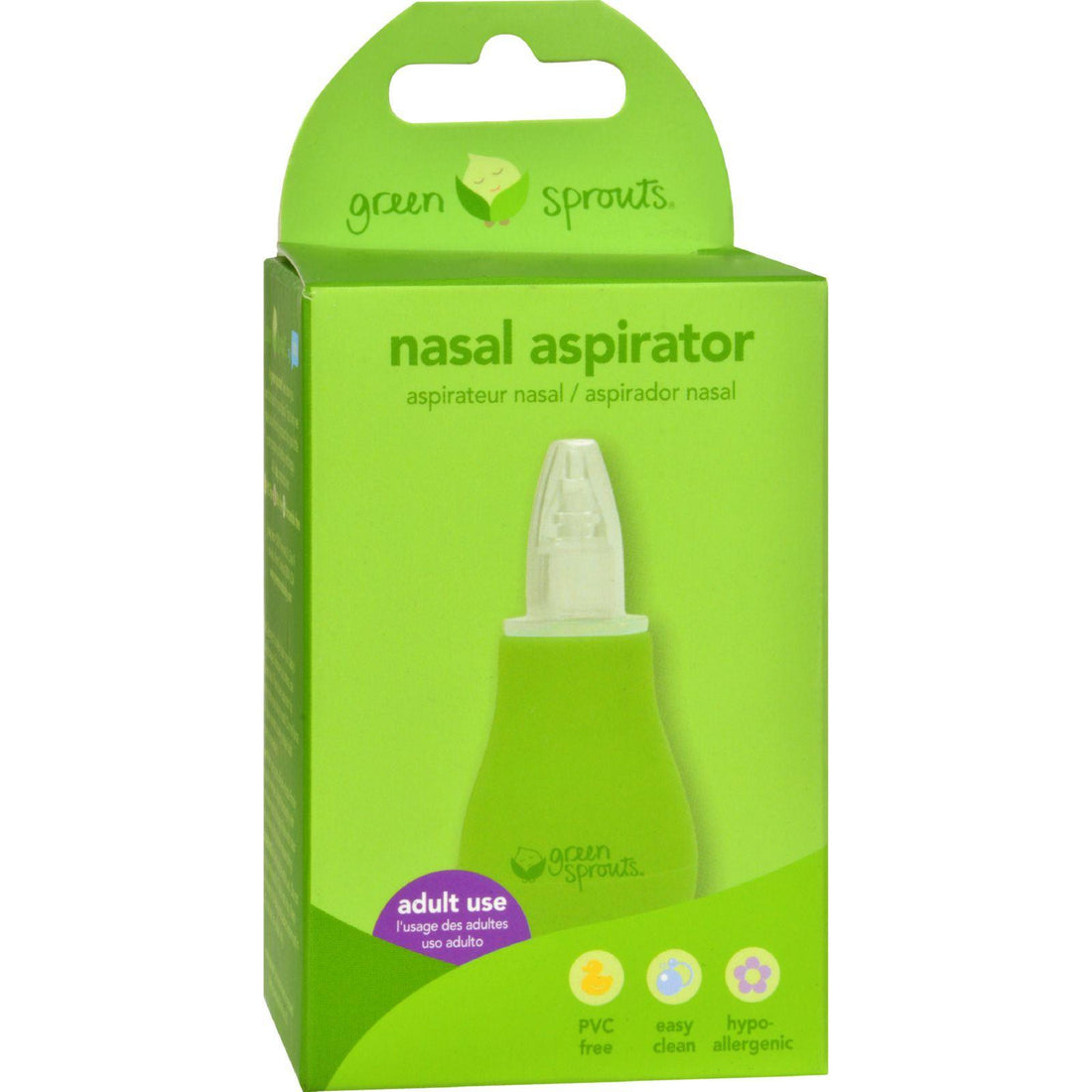 Mother Mantis: Green Sprouts Nasal Aspirator Green Sprouts