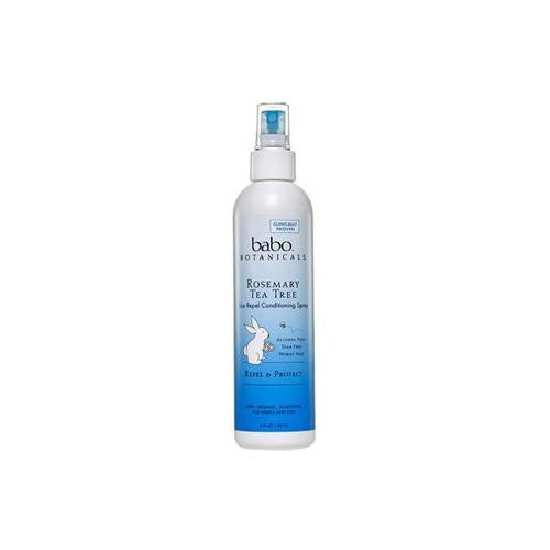 Mother Mantis: Babo Botanicals Lice Repel Conditioning Spray Rosemary - 8 Fl Oz Babo Botanicals