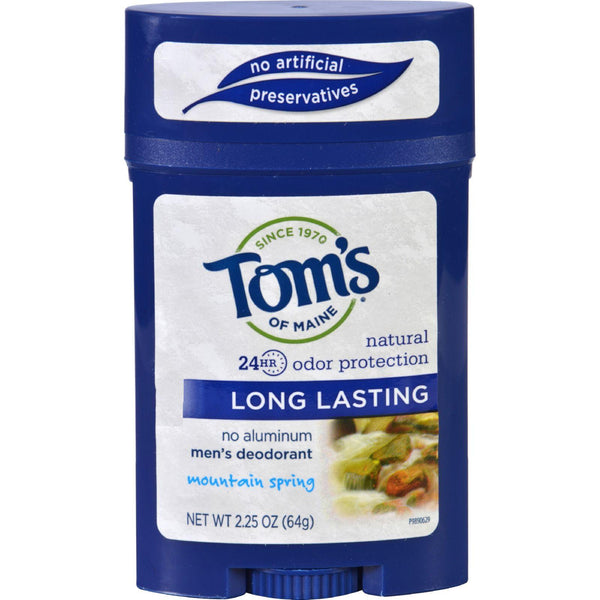 Mother Mantis: Tom's Of Maine Men's Deodorant Mountain Spring - 2.25 Oz - Case Of 6 Tom's Of Maine