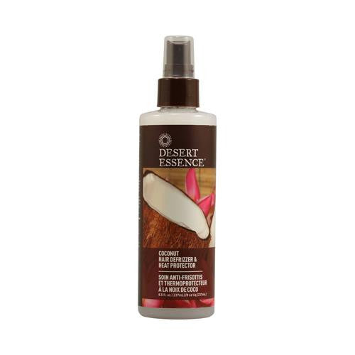 Mother Mantis: Desert Essence Hair Defrizzer And Heat Protector Coconut - 8.5 Fl Oz Desert Essence