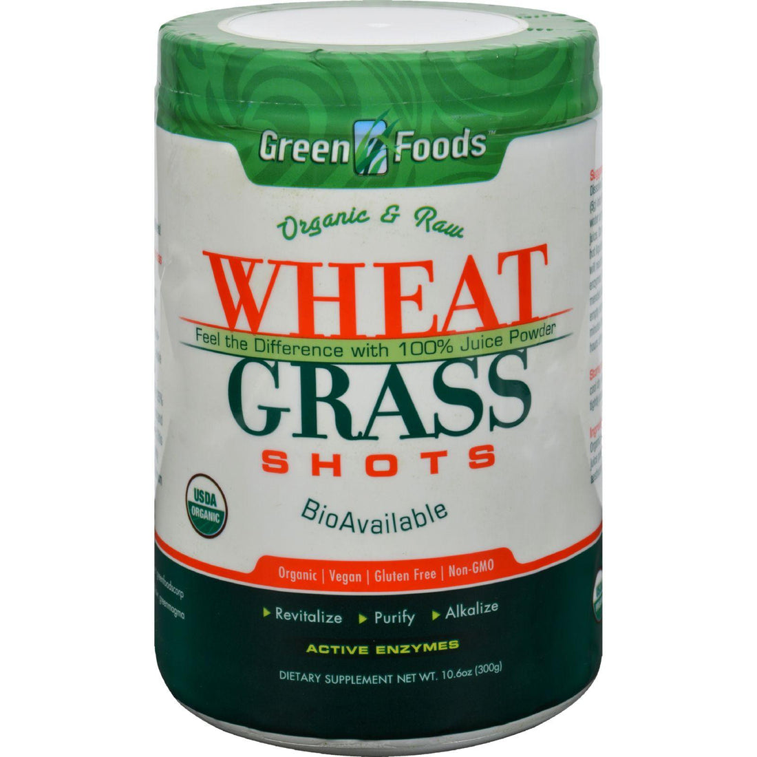 Mother Mantis: Green Foods Organic And Raw Wheat Grass Shots - 10.6 Oz Green Foods