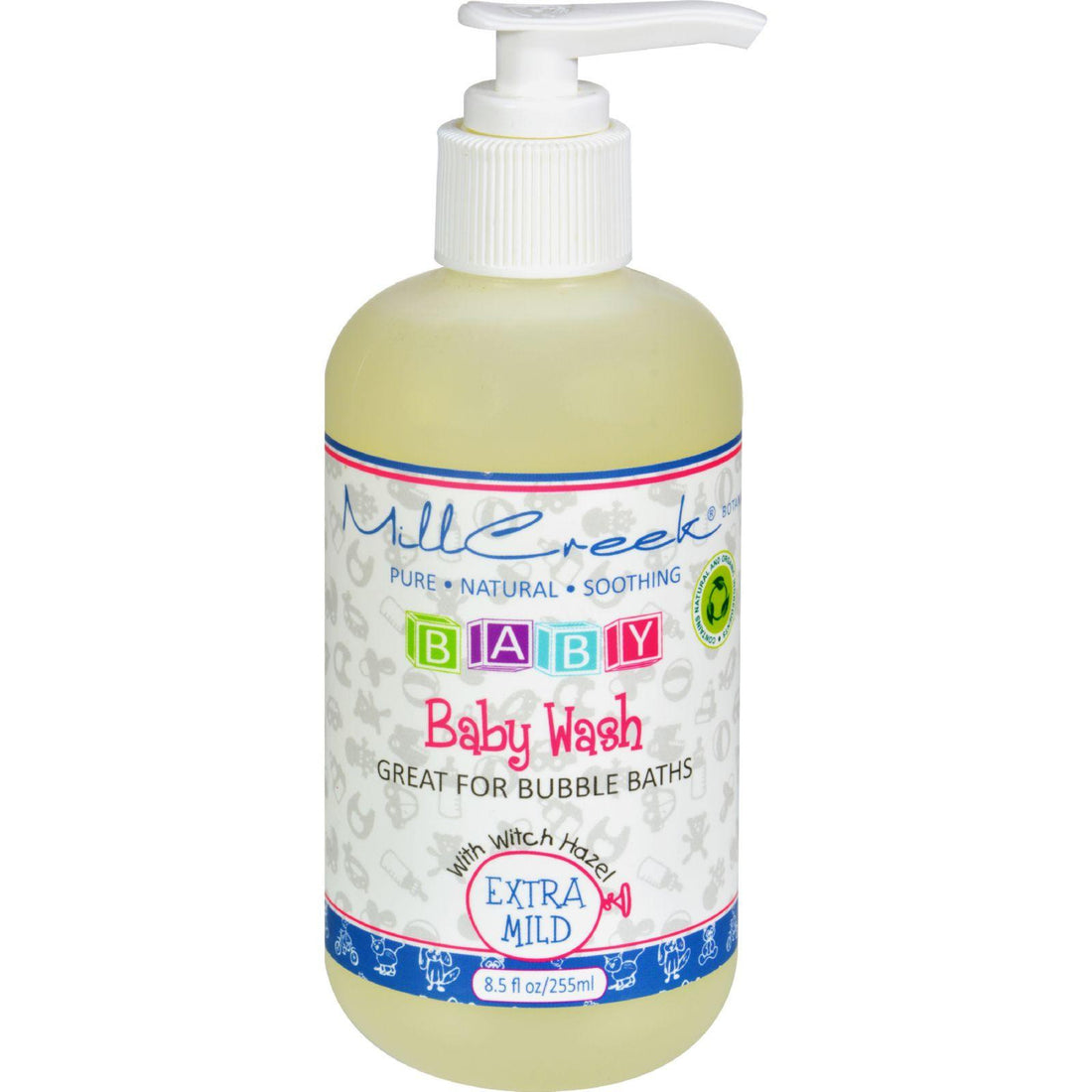 Mother Mantis: Mill Creek Botanicals Baby Wash - 8.5 Fl Oz Mill Creek
