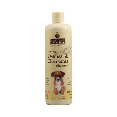 Mother Mantis: Natural Chemistry Natural Oatmeal And Chamomile Shampoo For Dogs - 16.9 Fl Oz Natural Chemistry