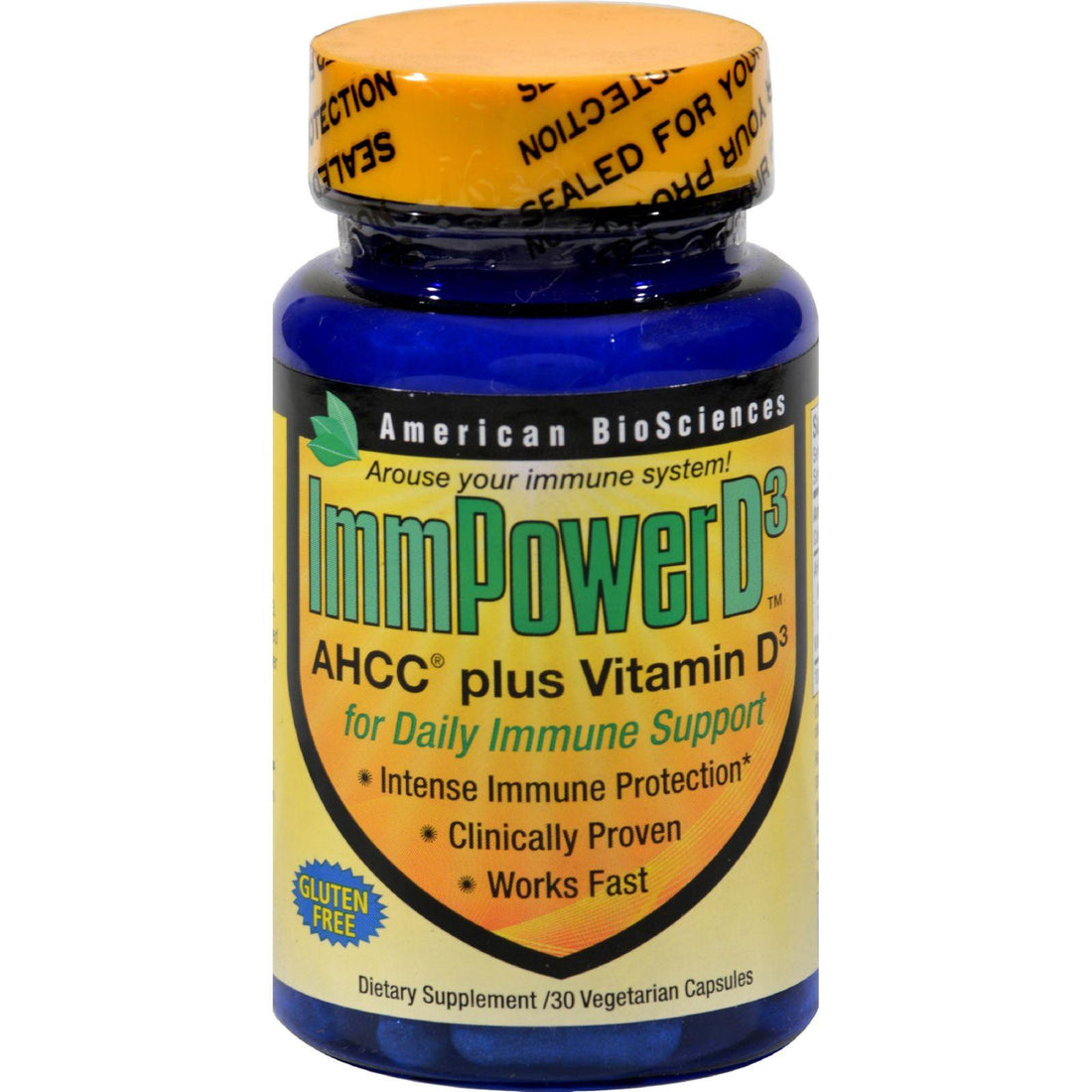 Mother Mantis: American Bio-sciences Immpowerd3 - 30 Vegetarian Capsules American Bio-science