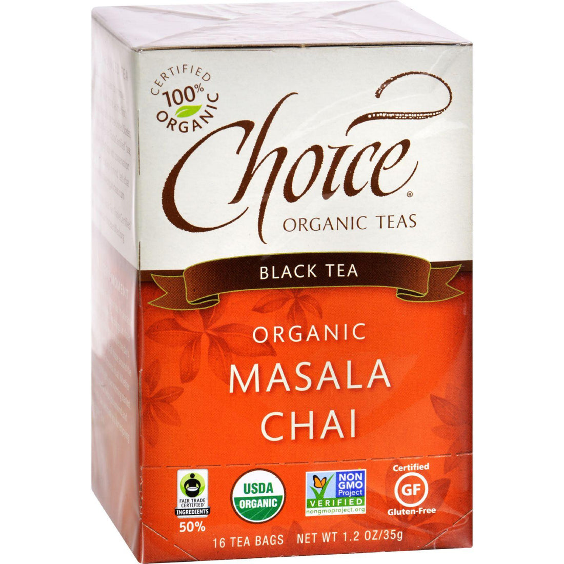 Mother Mantis: Choice Organic Teas Black Tea Masala Chai - Case Of 6 - 16 Bags Choice Organic Teas