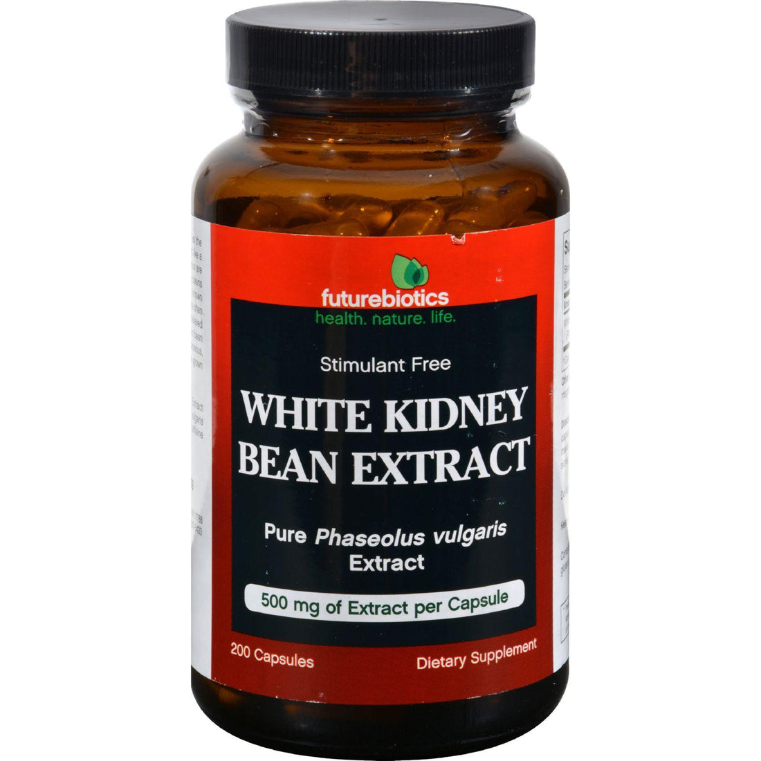 Mother Mantis: Futurebiotics White Kidney Bean Extract - 500 Mg - 200 Capsules Futurebiotics