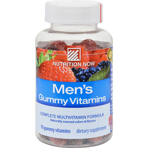Nutrition Now Men's Gummy Vitamins Bold Fruit - 70 Gummies Nutrition Now