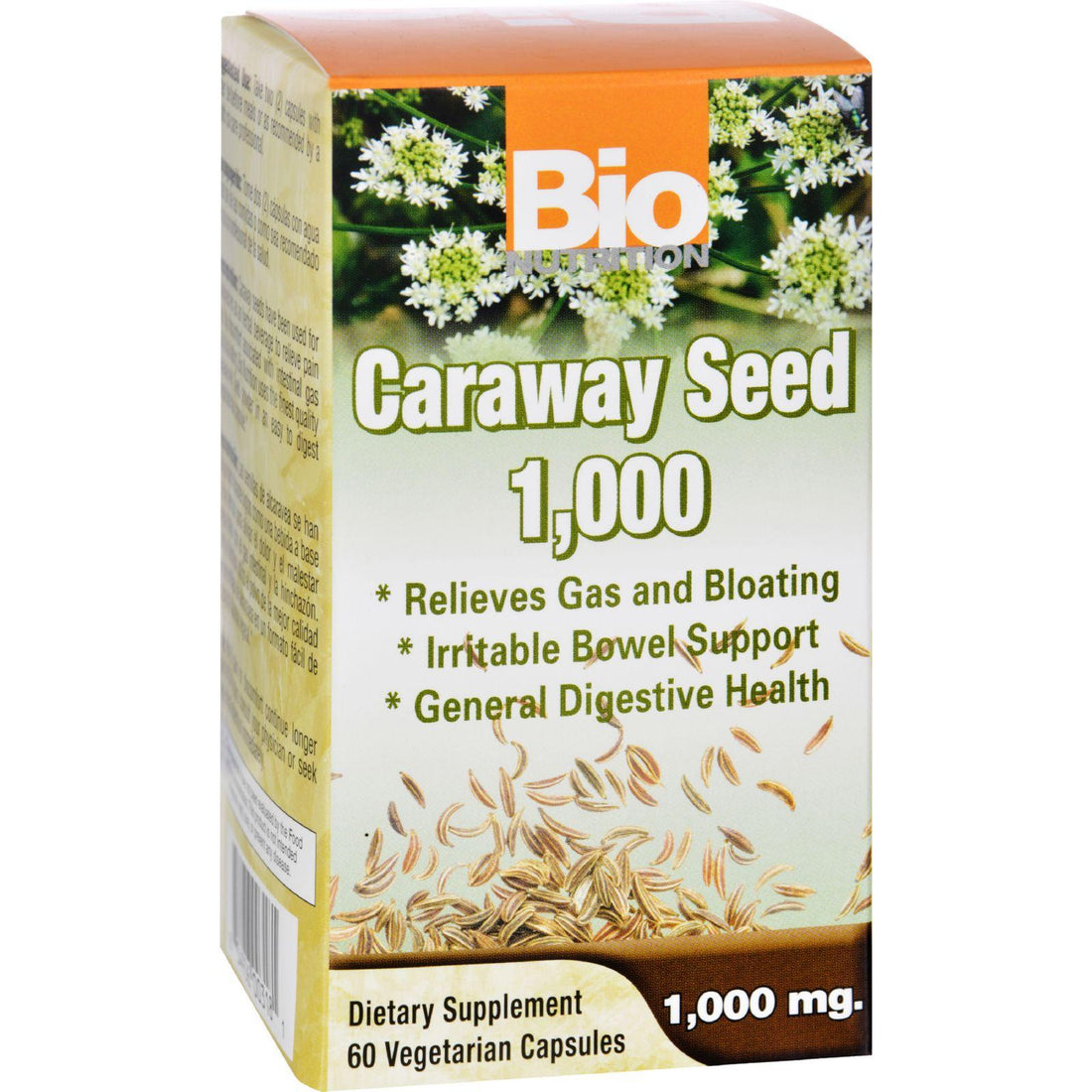 Mother Mantis: Bio Nutrition Caraway Seed 1 000 Mg - 1000 Mg - 60 Vegetarian Capsules Bio Nutrition