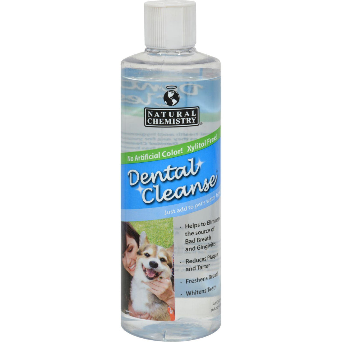 Mother Mantis: Natural Chemistry Dental Cleanse For Dogs - 16 Oz Natural Chemistry