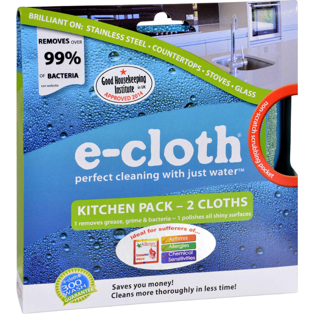 Mother Mantis: E-cloth Kitchen Cleaning Cloth - 2 Pack E-cloth