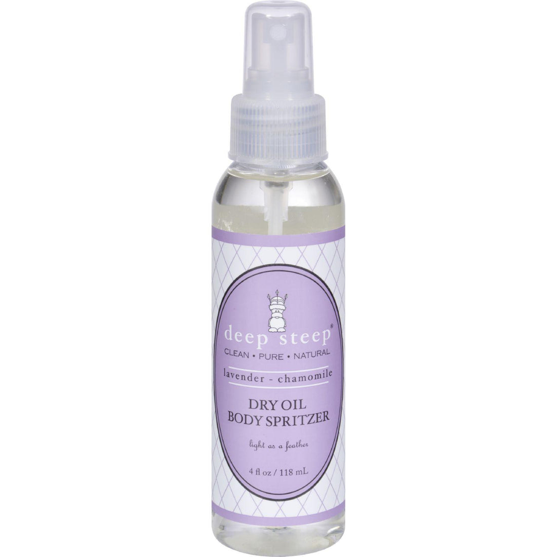 Mother Mantis: Deep Steep Dry Oil Body Spritzer - Lavender Chamomile - 4 Oz Deep Steep