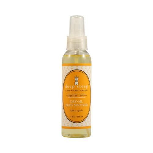 Mother Mantis: Deep Steep Dry Oil Body Spritzer Tangerine Melon - 4 Fl Oz Deep Steep