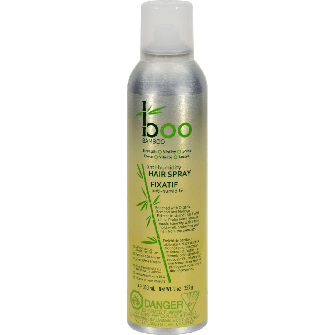 Mother Mantis: Boo Bamboo Finishing Hair Spray - 10.14 Oz Boo Bamboo