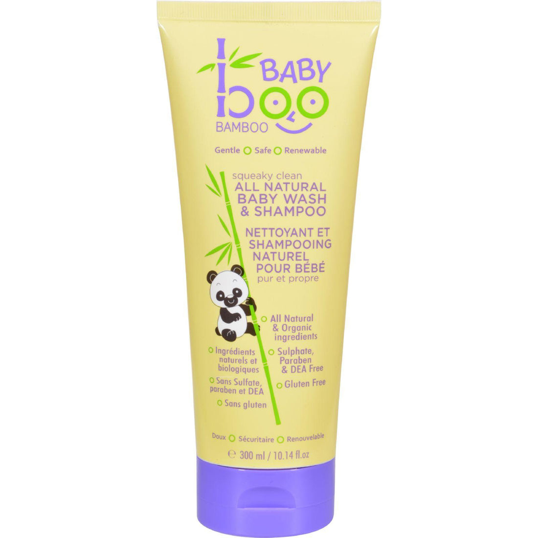 Mother Mantis: Boo Bamboo Baby Hair And Body Wash - 10.14 Oz Boo Bamboo