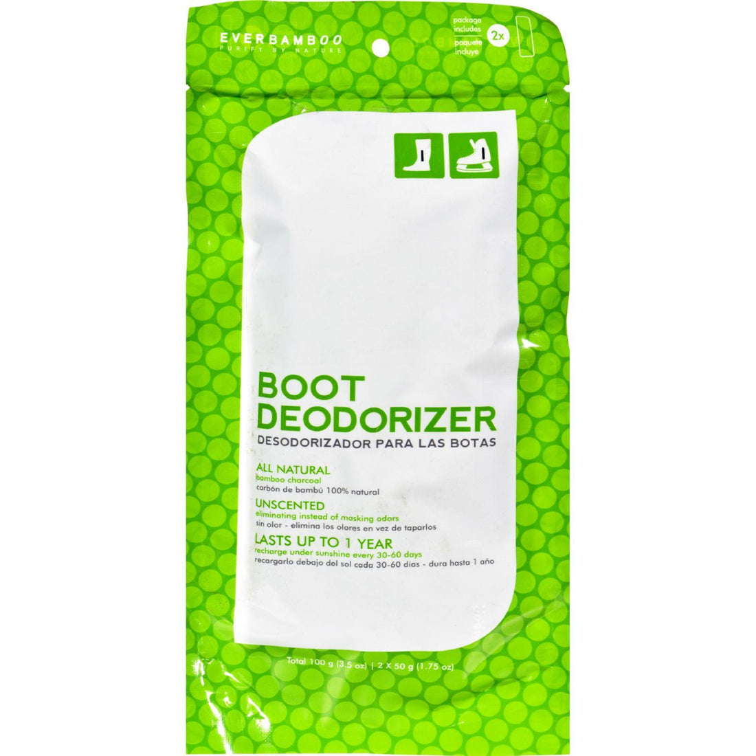 Mother Mantis: Ever Bamboo Boot Deodorizer - 2 Pack Ever Bamboo