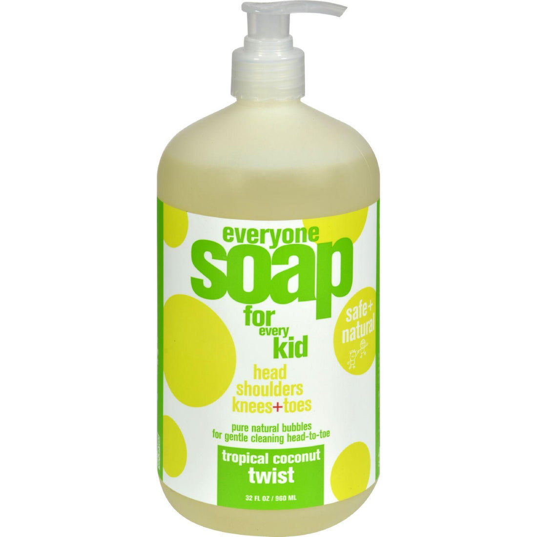 Mother Mantis: Eo Products Everyone Soap For Kids - Tropical Coconut Twist - 32 Oz Eo Products