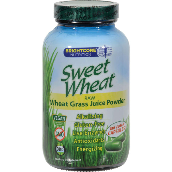 Mother Mantis: Sweet Wheat Freeze Dried Wheat Grass Juice Powder - 180 Caps Sweet Wheat