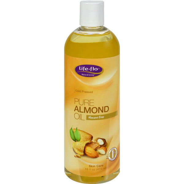 Mother Mantis: Life-flo Pure Almond Oil - 16 Fl Oz Life-flo