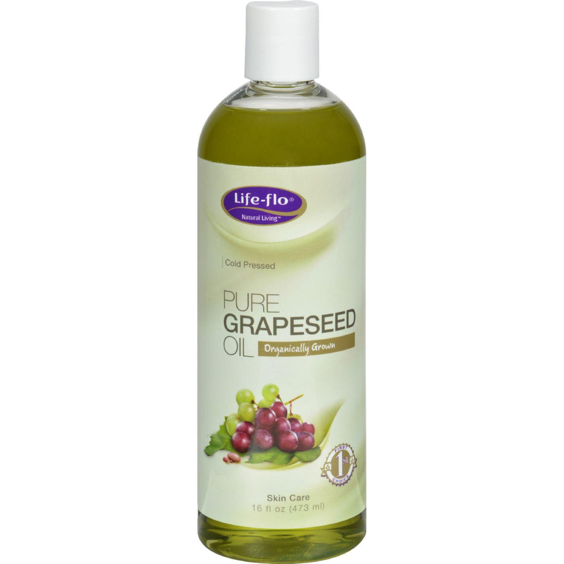 Mother Mantis: Life-flo Pure Grapeseed Oil Organic - 16 Fl Oz Life-flo