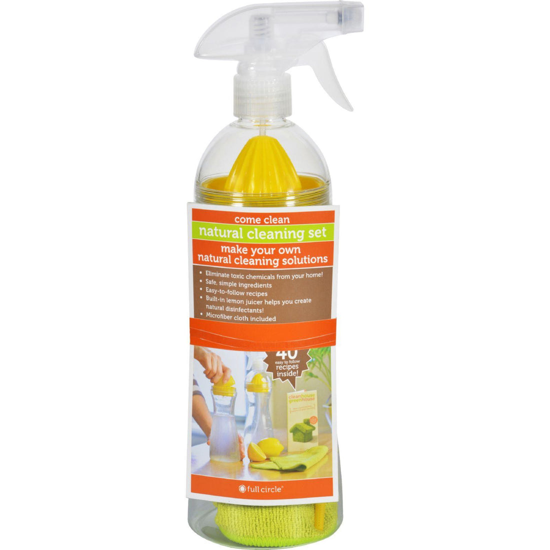 Mother Mantis: Full Circle Home Spray Bottle Come Clean - Case Of 6 Full Circle Home