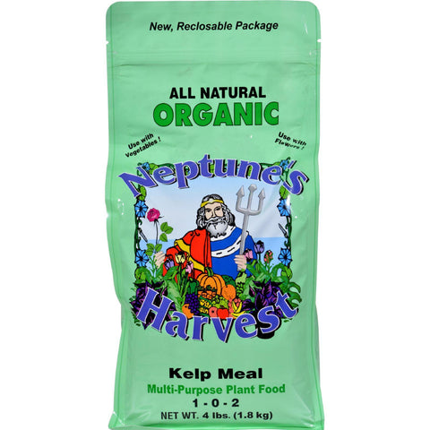 Neptune's Harvest Kelp Meal Fertilizer - Green Label - 4 Lb Neptune's Harvest Fertilizers
