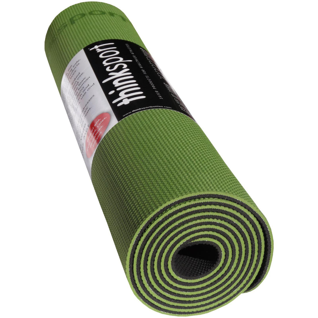 Mother Mantis: Thinksport Yoga Mat - Black-green Avocado Thinksport