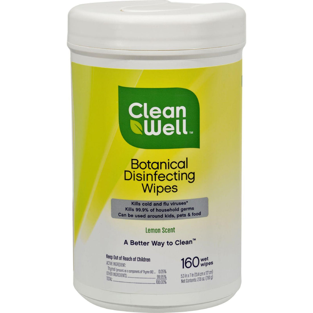 Mother Mantis: Cleanwell Disinfecting Wipes - 180 Count Cleanwell