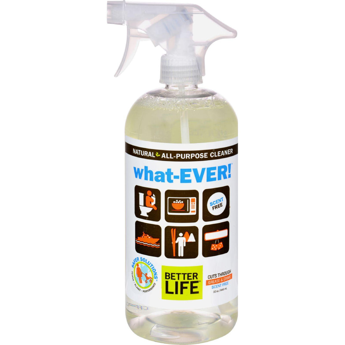 Mother Mantis: Better Life Whatever All Purpose Cleaner - Unscented - 32 Fl Oz Better Life