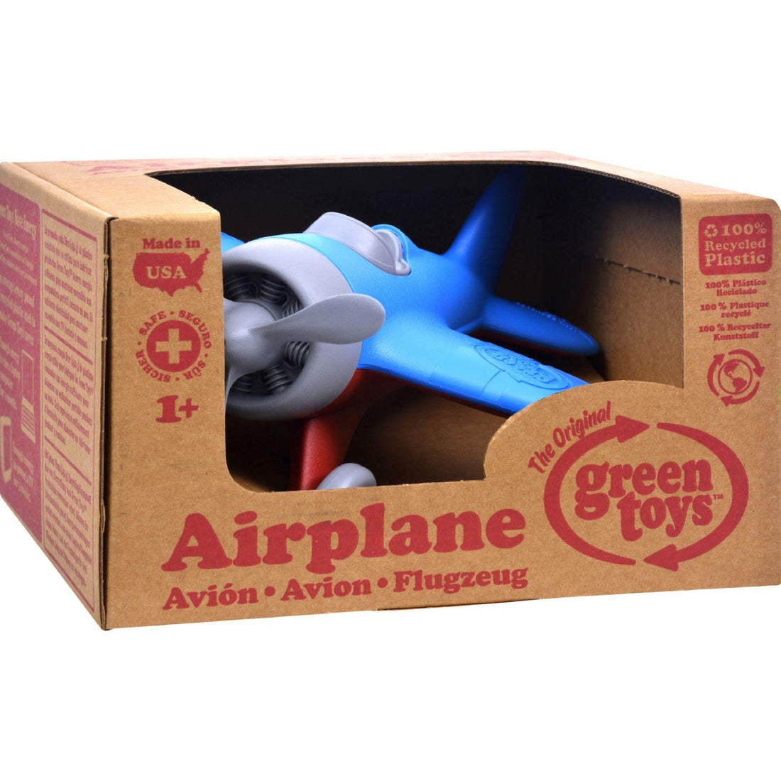 Mother Mantis: Green Toys Airplane - Blue Green Toys