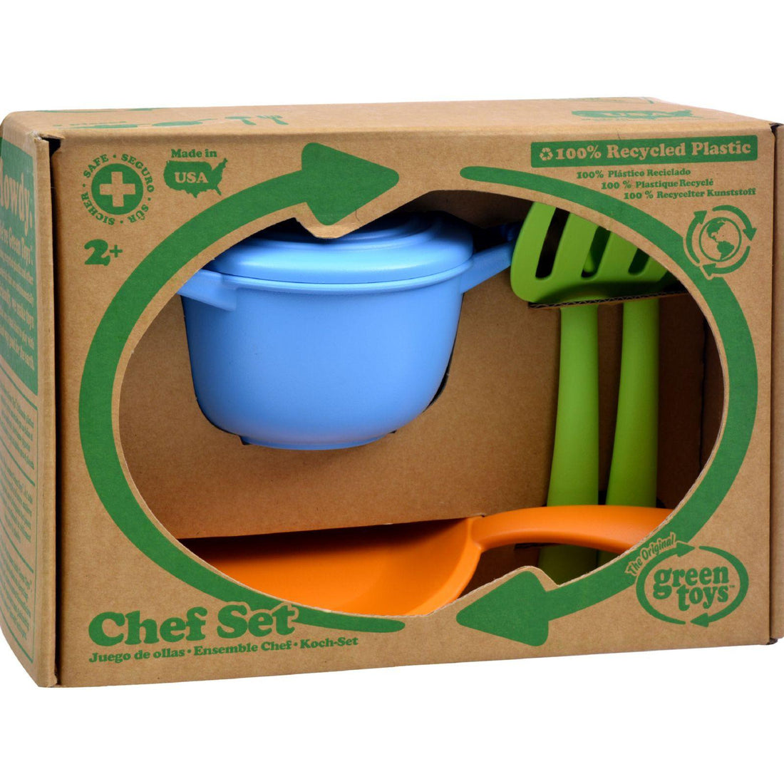 Mother Mantis: Green Toys Chef Set - 5 Piece Set Green Toys