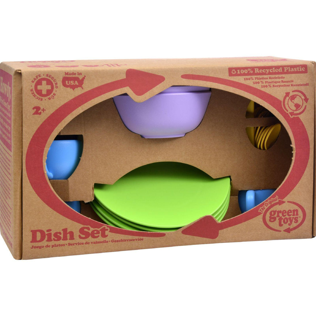 Mother Mantis: Green Toys Dish Set Green Toys