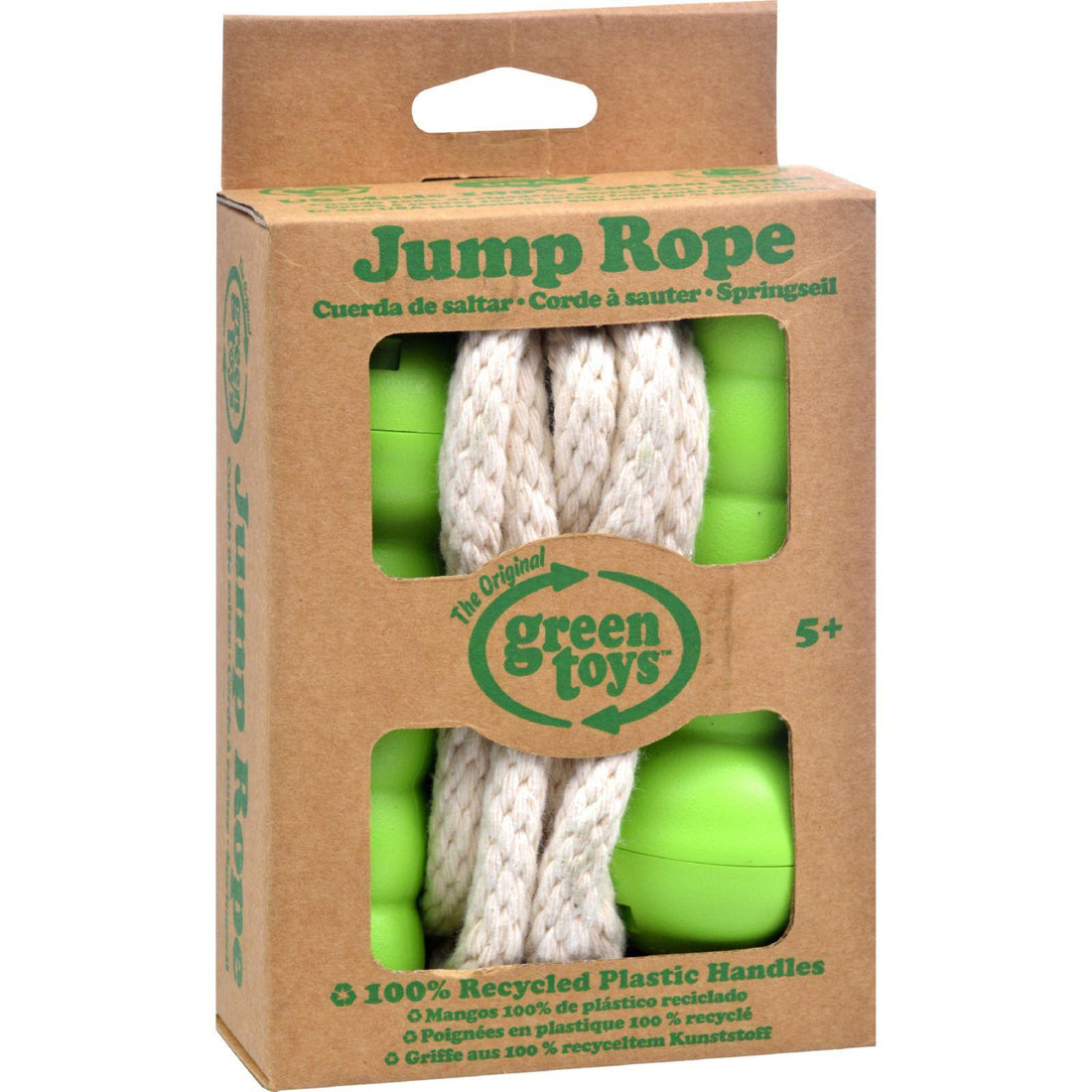 Mother Mantis: Green Toys Jump Rope - Green Green Toys